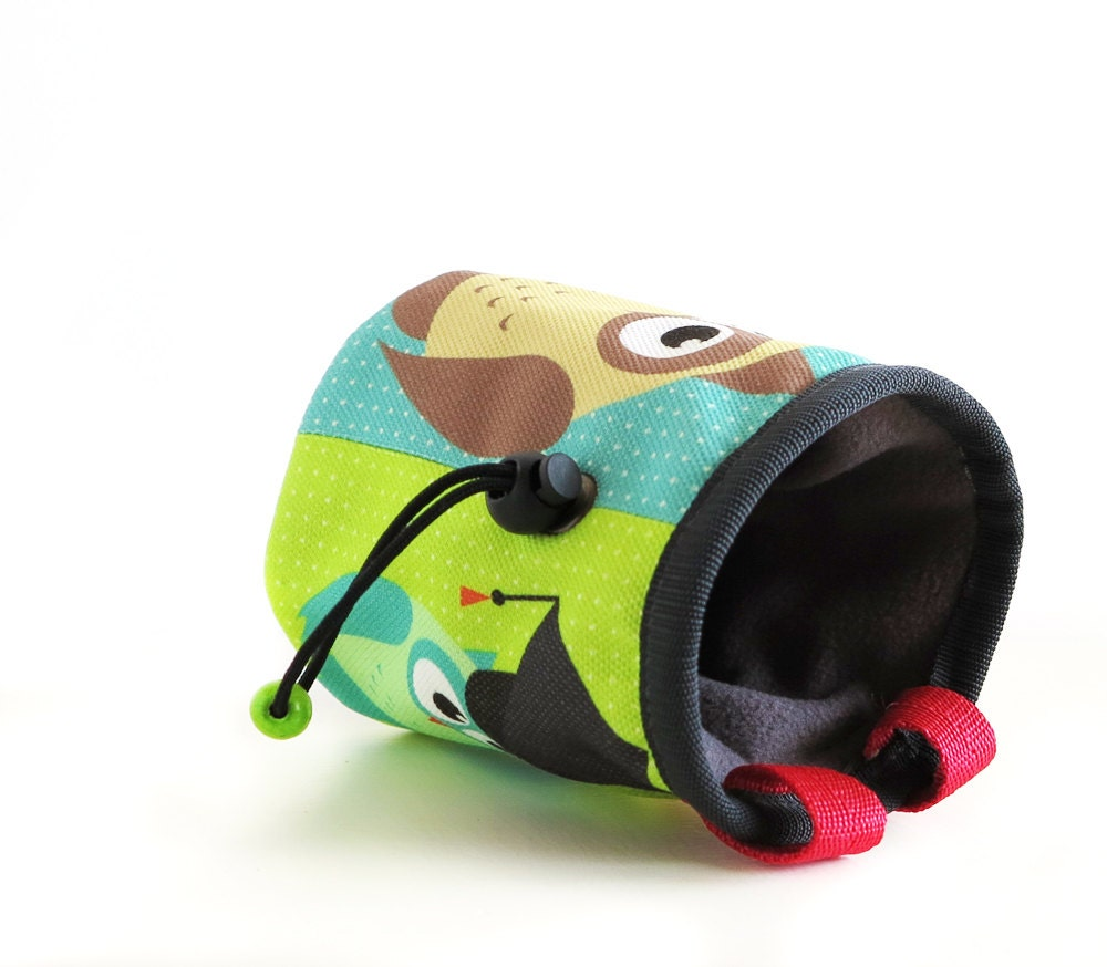 Cool chalk bag, handmade by Nadamlada