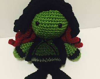 FREE SHIPPING!!! 9 inch Gamora Guardians of the Galaxy Amigurmi Doll