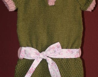 """Lirio"" tunic belted dress size 6/9 months"