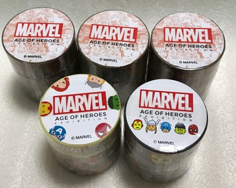 Marvel Characters/Movies Masking Tape Set