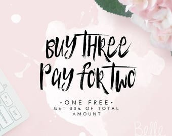 COUPON Buy 3 Items - Pay for 2
