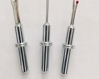 Extra Blades for Seam Rippers-Large and Small Replacements For Seam Rippers-Seam Ripper Stiletto Tool-Spare Parts for Seam Rippers