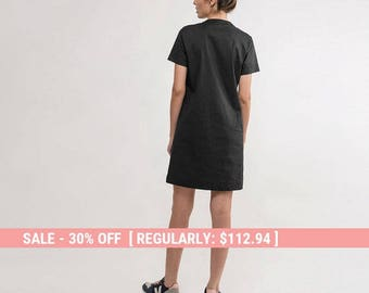 Black Dress,Little Black Dress,summer Black Dress,short black dress,Basic black Dress,short sleeve black Dress,classic black dress,dress