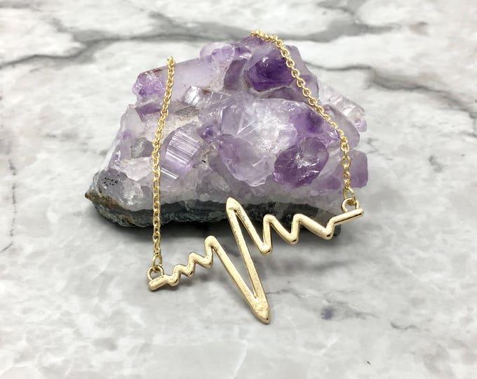 HEARTBEAT: heartbeat necklace