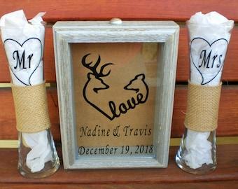 Unity Sand Ceremony Shadow Box, Barnwood Cottage Chic Wedding,Sand Ceremony, Wedding Sand Ceremony, Beach Ceremony, Unity Sand Ceremony.
