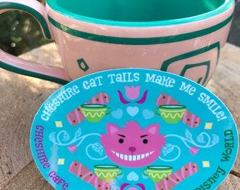Cheshire Cat Tail Sticker