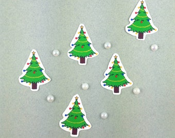 "Small sticker Kit ""Christmas - tree"""