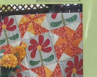 SALE** Dahlia Garden - Pattern - by Joined at the Hip
