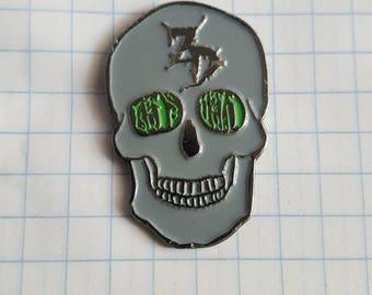 STFO Zeds Dead Sugar Skull pin