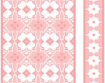 Cuttlebug® 3D A2 Embossing Folder & Border, Mountain Meadow. 4.25 x 5.50. Item is new.