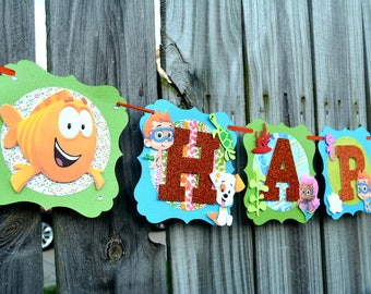 Bubble Guppies Banner-Bubble Guppies Decoration-Bubble Guppies Birthday Banner-Bubble Guppies Party-Bubble Guppies Decoration-Bubble Guppies