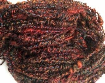 Dragon's Keep - Hand Spun, Hand Dyed Mohair and Wool Yarn