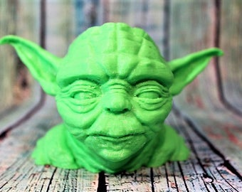 Yoda Pot Planter Pen Holder , Star Wars Movie Character,StarWars Yoda Planter,Yoda Pen Holder,Yoda Geekery Gift, Yoda Stocking Stuffer