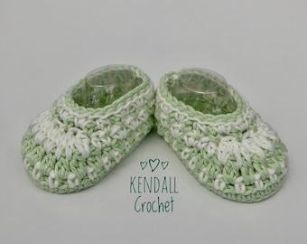 Galilee Crochet Booties Newborn