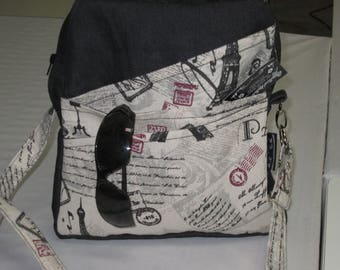 handbag, purse tote bag, shoulder strap, bag paris