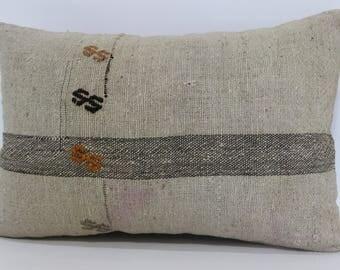 16x24 Throw Pillow Sofa Pillow 16x24 Bohemian Decorative Kilim Pillow Sofa Pillow Ethnic Pillow Turkish Kilim Pillow SP4060-580