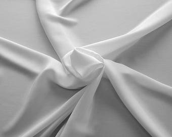 1712-001 - Crepe Satin silk 100%, width 135/140 cm, made in Italy, dry cleaning, weight 100 gr