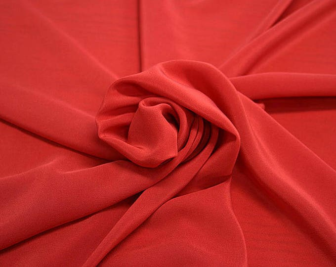 301101-Chinese natural silk crepe 100%, width 135/140 cm, made in Italy, dry cleaning, weight 88 gr