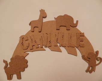 Door cut out name: JUNGLE THEME