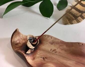 Rose Bud Incense Tray