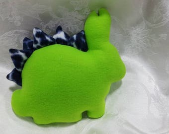 Medium Fleece Stegosaurus Bunny