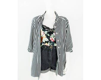 Vintage shirt with stripes design