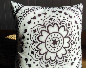 "Mandala cushion - Collection ""Praise the 4 seasons"""