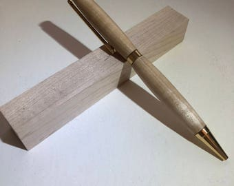 Handmade Wooden Pen - Maple