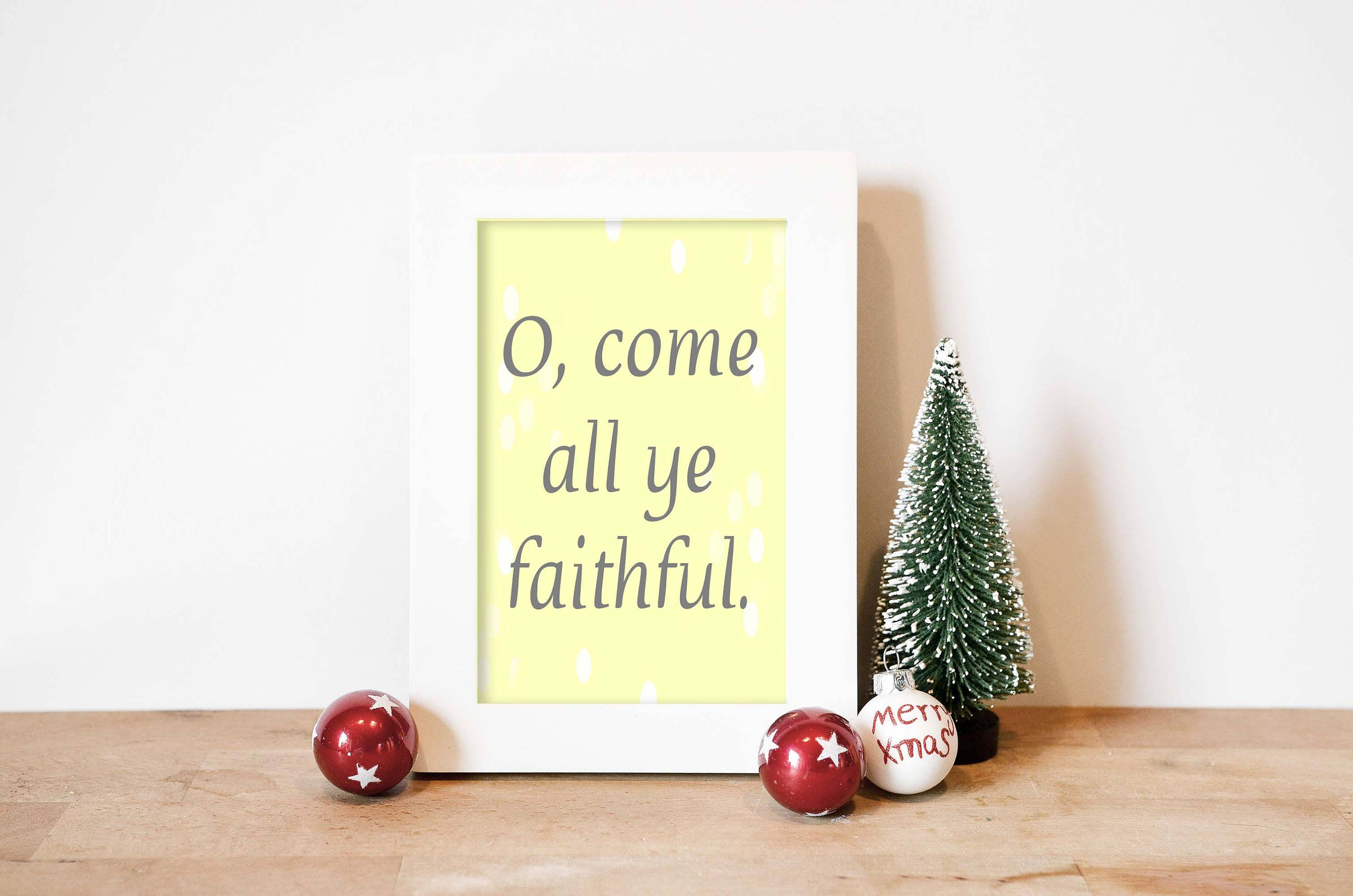 Christmas Word Art Print, Christmas Home Decor, Christmas Wall Art ...