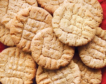 Peanut Butter Cookies,Brown Cookies,Peanut Butter,Cookies