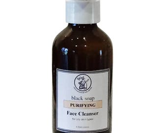 Purifying Facial Cleanser with Black Soap