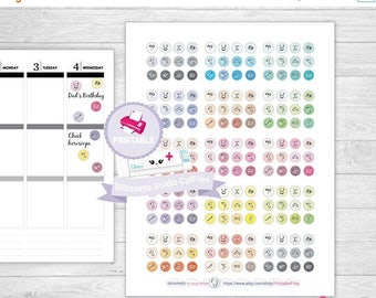 50% OFF SALE Horoscope planner stickers, Printable Planner Stickers, planner Stickers, monthly planner stickers, tn planner stickers, horosc