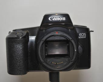 Canon EOS 1000F - 35mm SLR Camera body only - ideal student camera #86