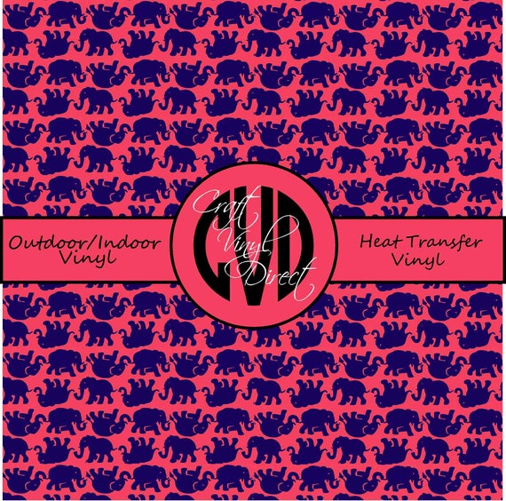 Beautiful Patterned Vinyl // Patterned / Printed Vinyl // Outdoor and Heat Transfer Vinyl // Pattern 58