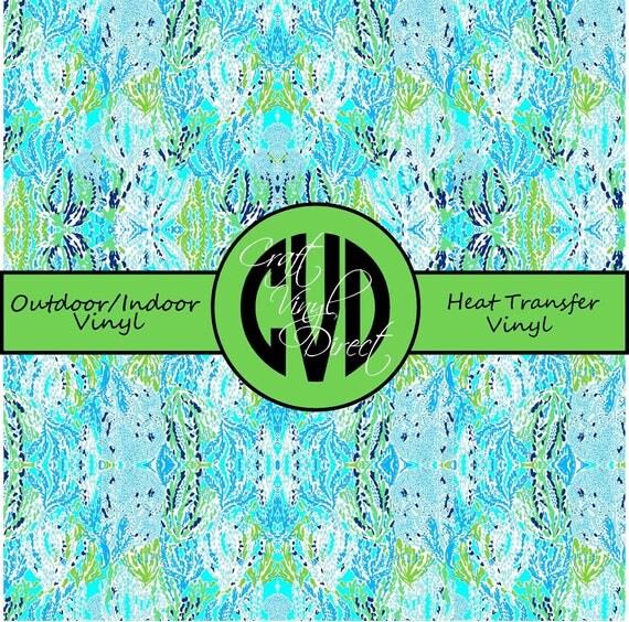 Beautiful Patterned Vinyl // Patterned / Printed Vinyl // Outdoor and Heat Transfer Vinyl // Pattern 100