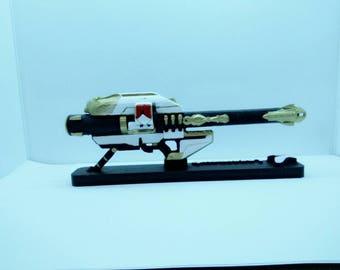Customized replica inspired in Gjallarhorn 3D printed  (6,3 in.or 8.4 in.)