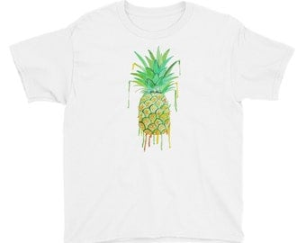 Pineapple Youth Short Sleeve T-Shirt