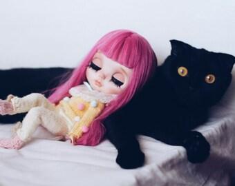 Ooak blythe doll custom hand made
