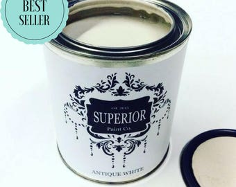 New Best Seller - Antique White Superior Paint Co. Chalk Furniture Paint