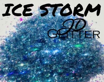 Ice Storm Chunky Glitter Mix