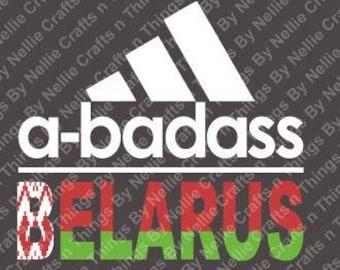 a-badass Belarus SVG