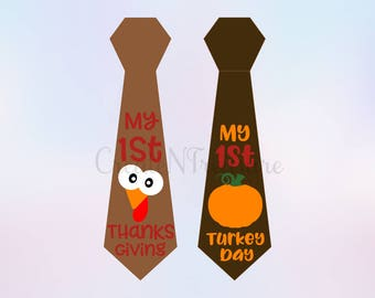 First Thanksgiving svg, Thanksgiving svg, Turkey svg, Pumpkin svg. Cutting file for Cricut and Silhouette,  SVG, PNG, DXF.