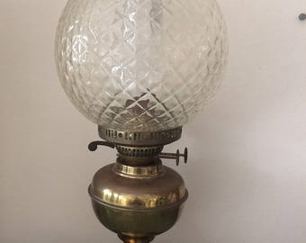 Victorian Style Oil Lamp