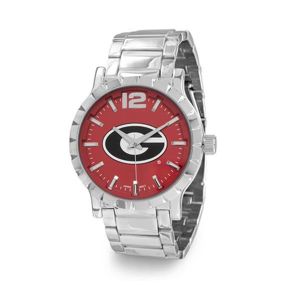 Collegiate Licensed University of Georgia Men's Fashion Watch