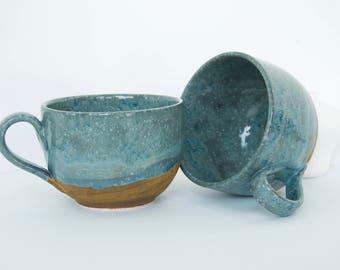 Cast Iron Babbling Brook Jumbo Mugs