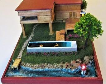 Miniature Lake house fully furnished.
