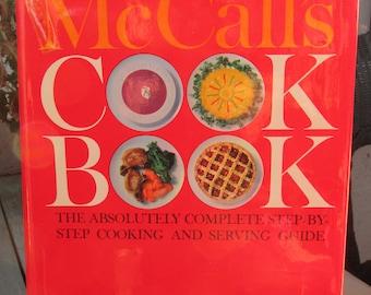 McCall's Red Cook Book Hardback 1963 1st Printing Random House