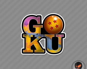 GOKU (Sticker)