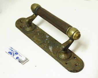 Antique Brass Door Handle Vintage Large Brass Door Handle Pull