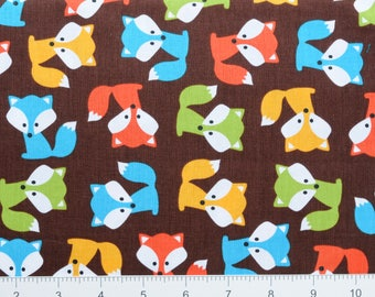 FOX ~ Urban Zoologie by Ann Kelle for Robert Kaufman ~ AAK1472316 ~ By The Half Yard ~